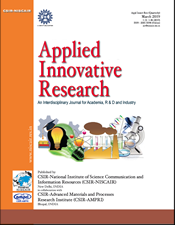 Applied Innovative Research (AIR) Cover
